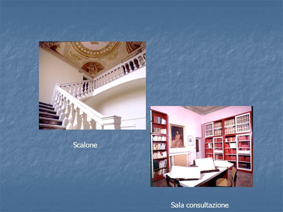 Sala consultazione Scalone