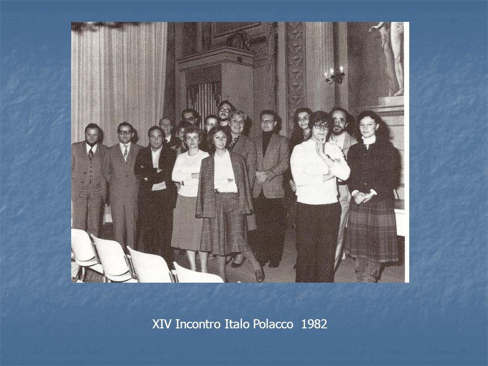 XIV Incontro Italo Polacco 1982