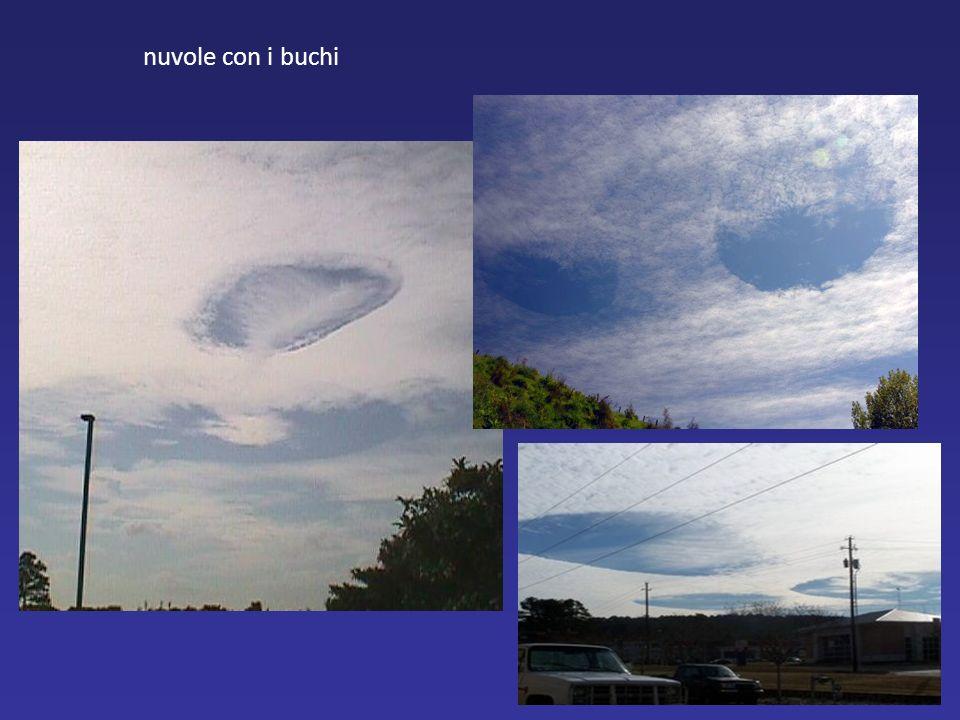 nuvole con i buchi