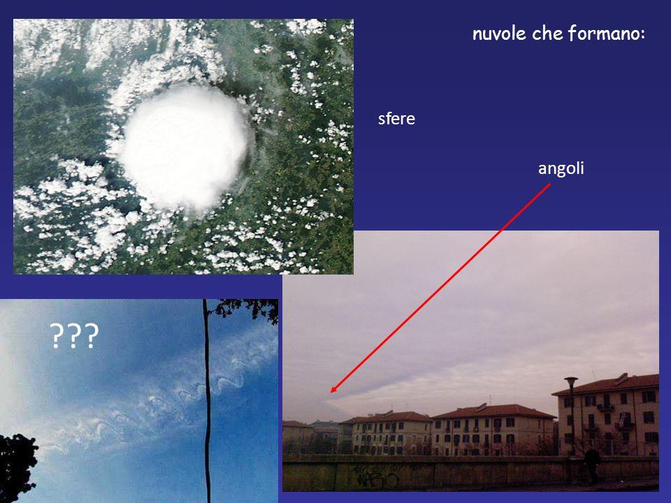 nuvole che formano: angoli sfere ???