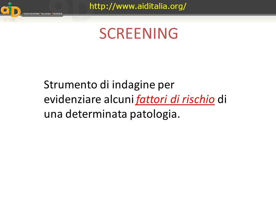 http://www.aiditalia.org/ La scuola per tutti in Umbria Screening Dai percorsi spontanei di avvicinamento alla scrittura allalfabetizzazione Valerio C
