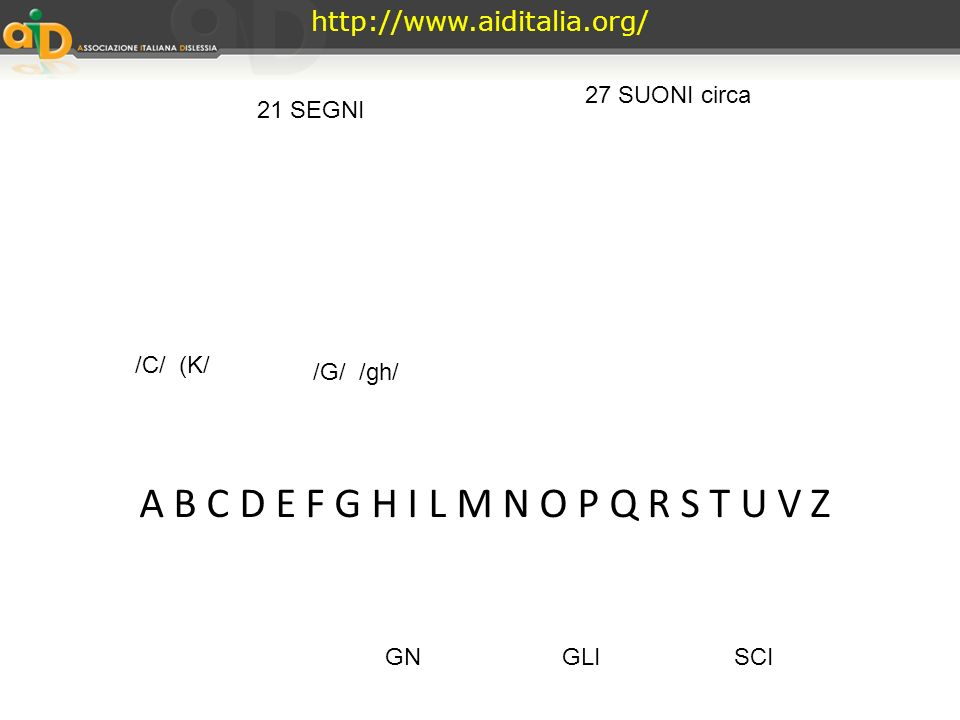 Litaliano ha 27 fonemi che non possono essere combinati fra loro in qualsiasi ordine Per esempio il fonema [s] può precedere, ma non seguire il fonema