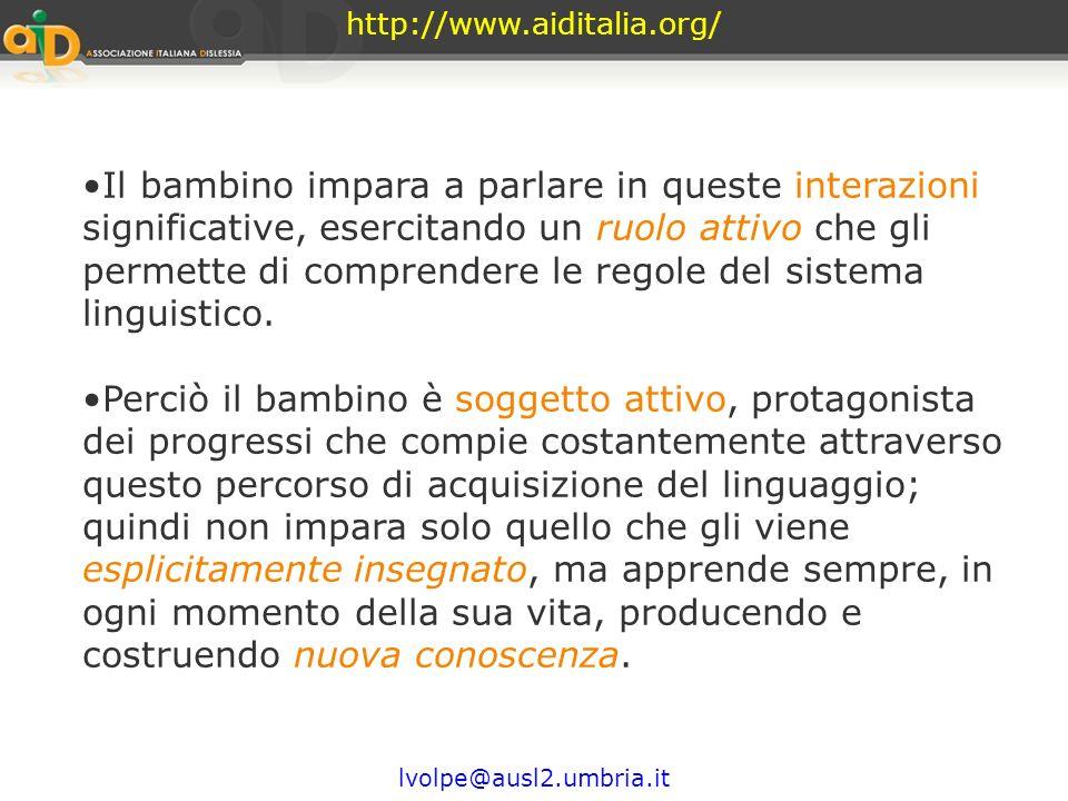 Prima di imparare a scrivere http://www.aiditalia.org/ Come fa il bambino ad imparare a parlare? Impara a parlare parlando, producendo e comprendendo