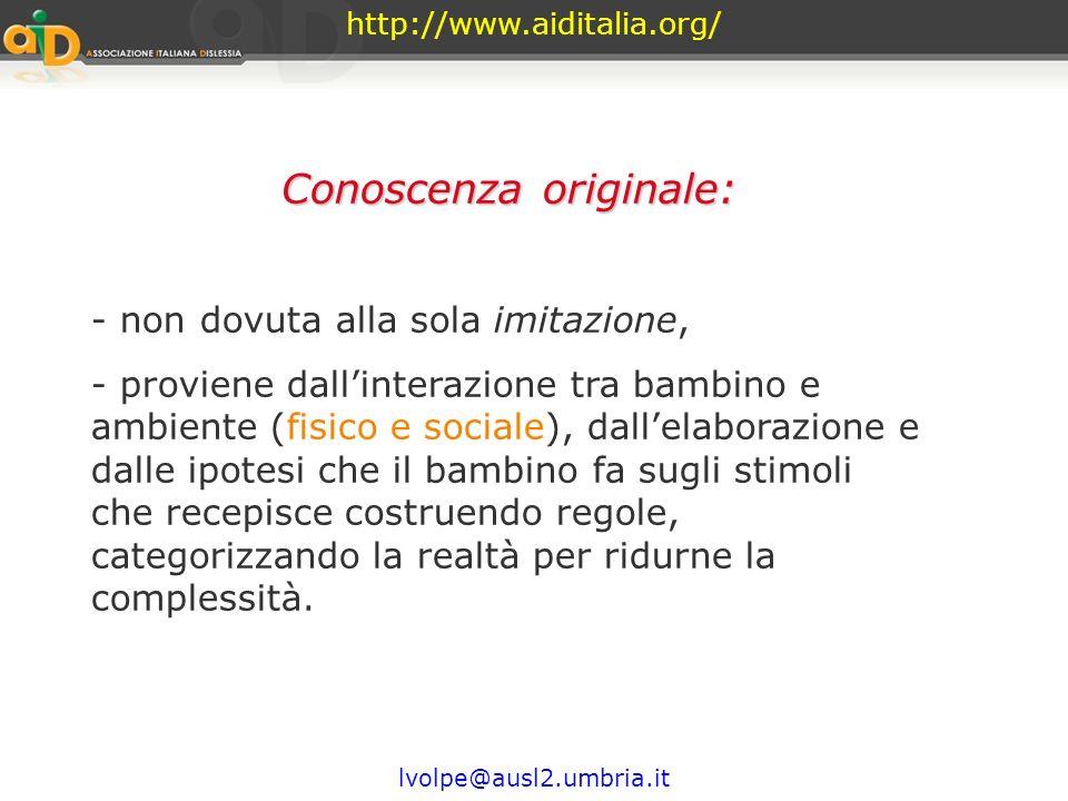 http://www.aiditalia.org/ Il bambino impara a parlare in queste interazioni significative, esercitando un ruolo attivo che gli permette di comprendere