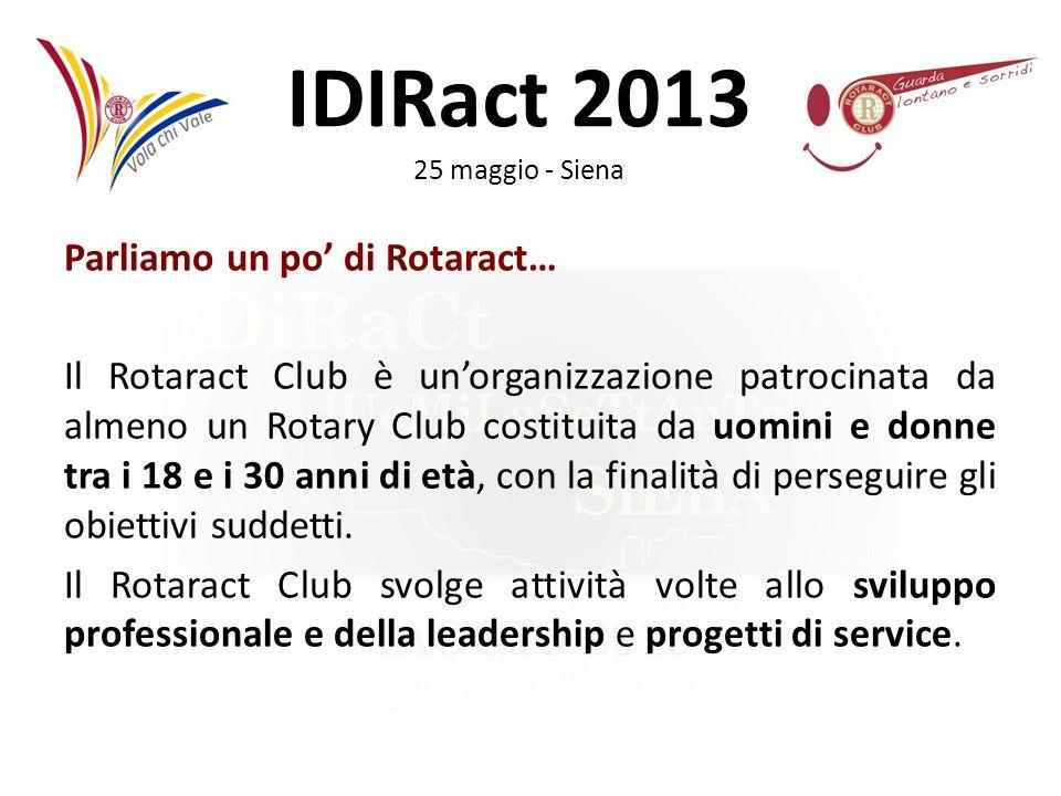 IDIRact 2013 25 maggio - Siena IL VERBALE Il verbale è un documento che rappresenta una sorta di diario sul quale scrivere la vita e le decisioni del club.