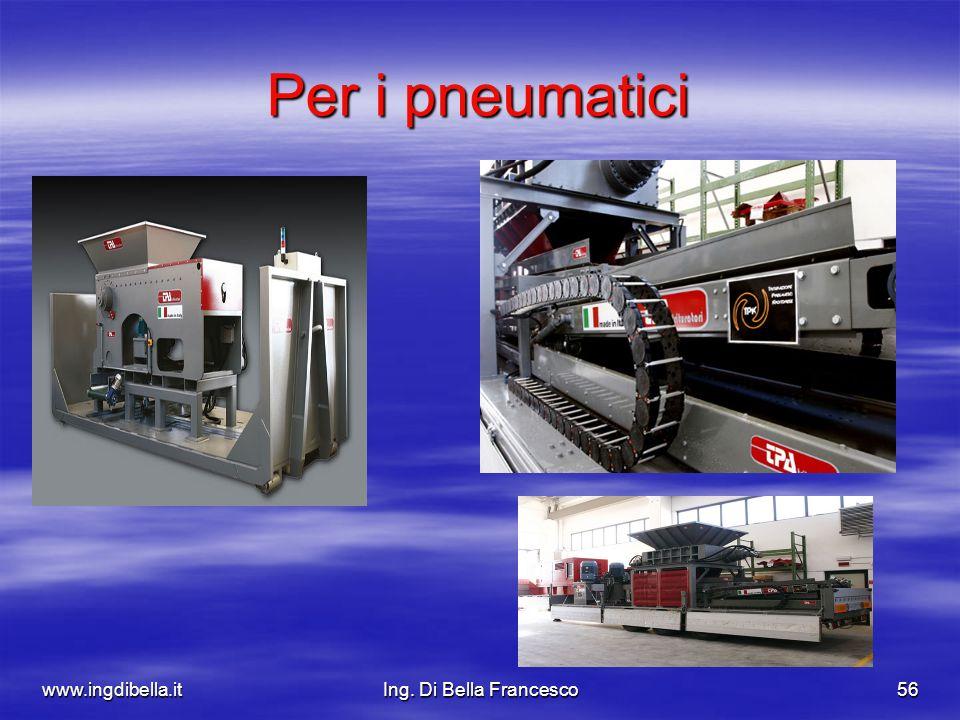 www.ingdibella.itIng. Di Bella Francesco56 Per i pneumatici