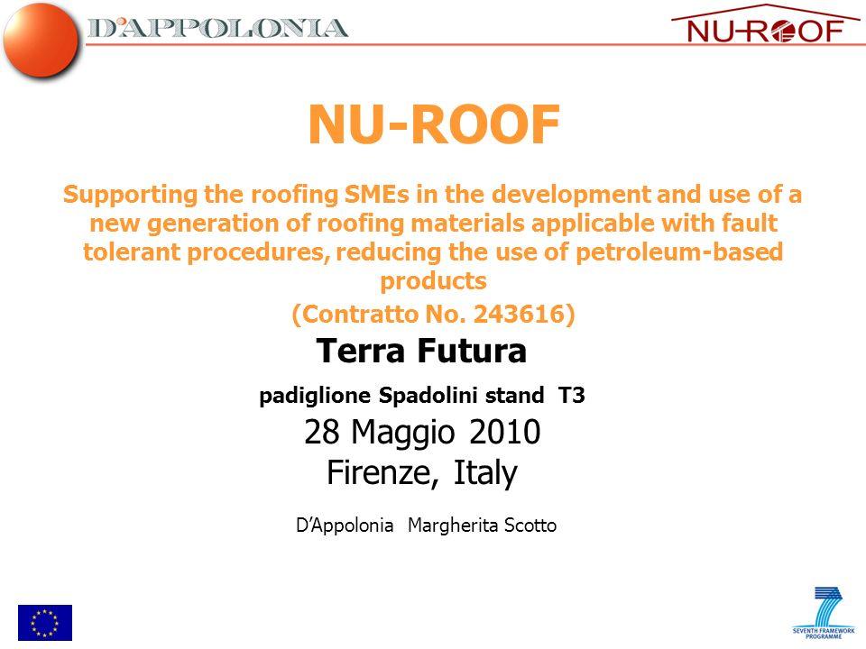 Associazioni LCT (Construction & Buildings) CATIDER (Roofing Trade) IFD (Roofing Trade) AMSP (Construction & Buildings) NU-ROOF: Associzioni di PMI