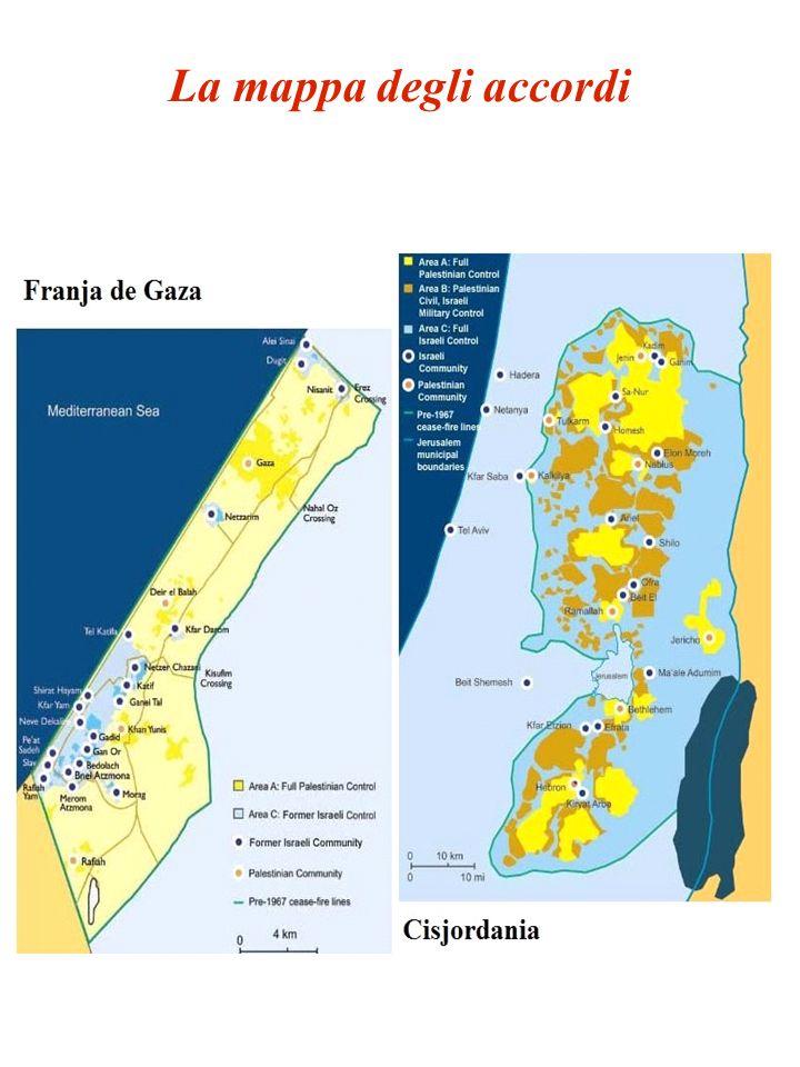 La mappa degli accordi