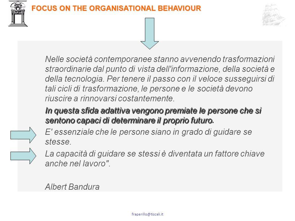 fraperillo@tiscali.it La creazione del valore è la finalità ultima di qualunque scelta strategica, progetto o commessa.