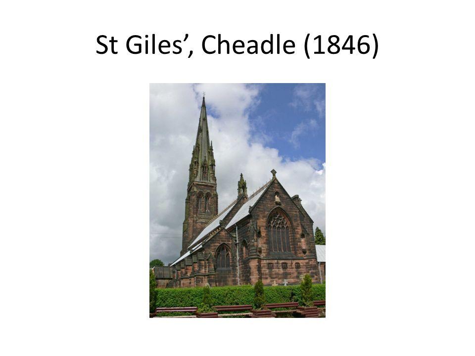 St Giles, Cheadle (1846)