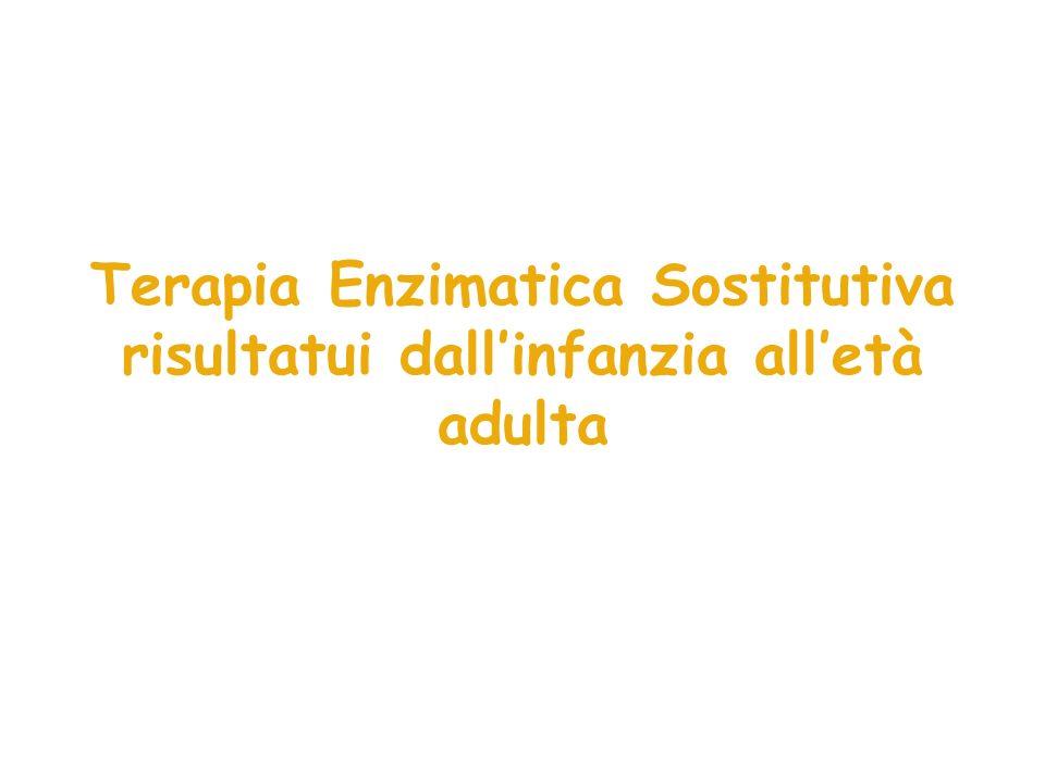 Terapia Enzimatica Sostitutiva risultatui dallinfanzia alletà adulta