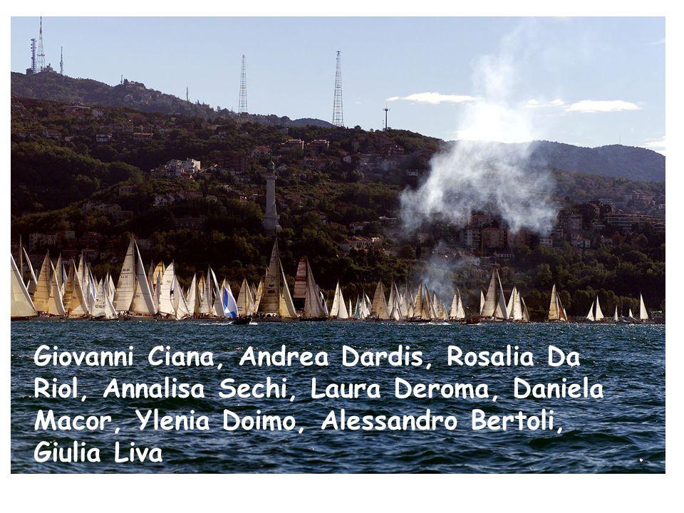 Giovanni Ciana, Andrea Dardis, Rosalia Da Riol, Annalisa Sechi, Laura Deroma, Daniela Macor, Ylenia Doimo, Alessandro Bertoli, Giulia Liva