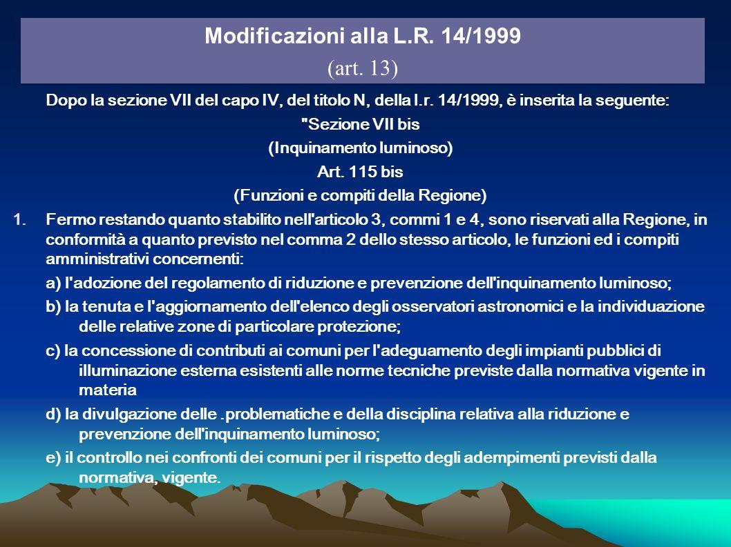 Dopo la sezione VII del capo IV, del titolo N, della l.r. 14/1999, è inserita la seguente: