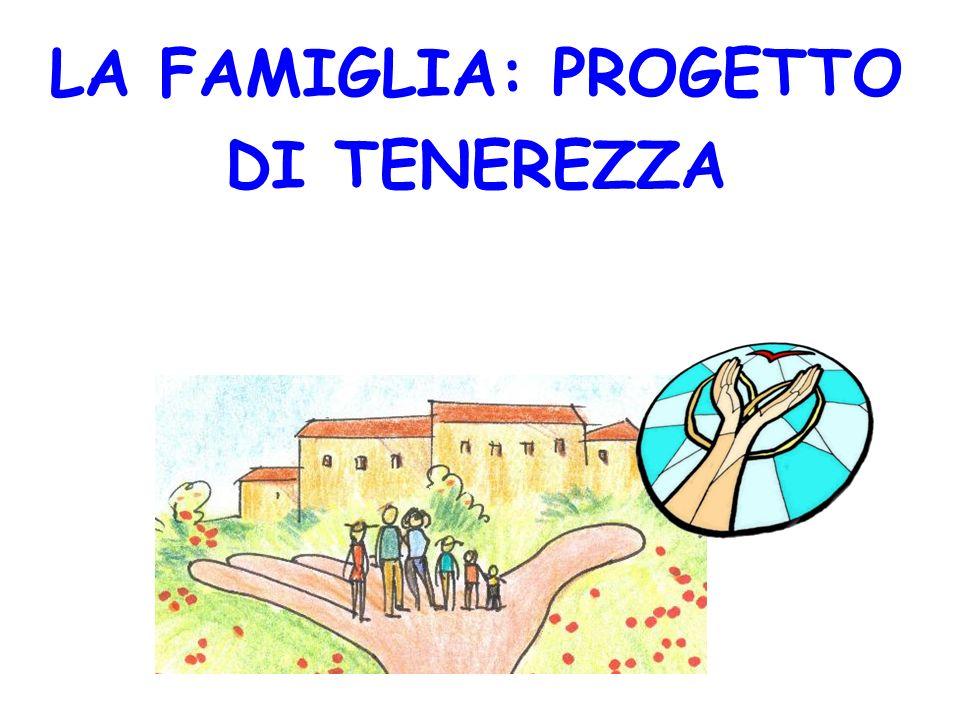 VERSO QUALE MODELLO DI FAMIGLIA? FAMIGLIA-FAMIGLIA FAMIGLIA-NON-FAMIGLIA