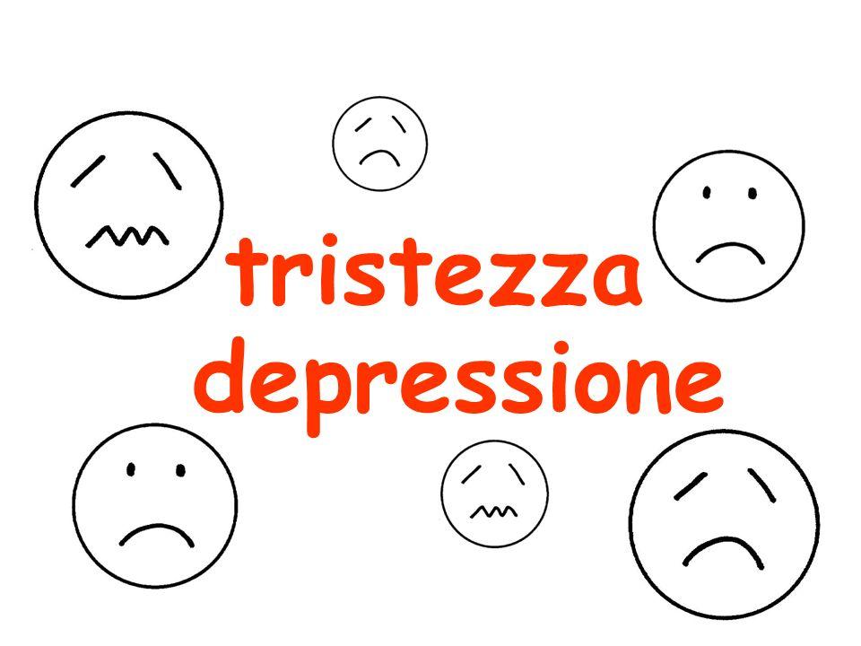 depressione tristezza