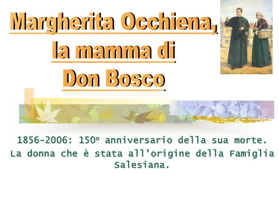 Autunno 1846.Mamma Margherita ha 58 anni, Don Bosco 31.