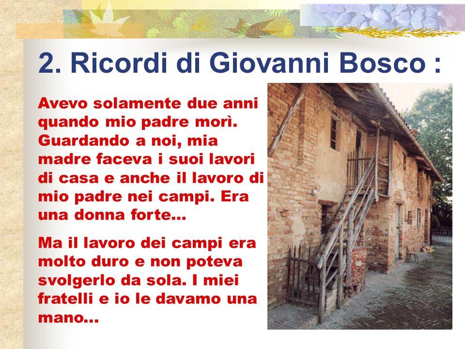 La Famiglia di Don Bosco deve molto a sua madre Margherita Occhiena.