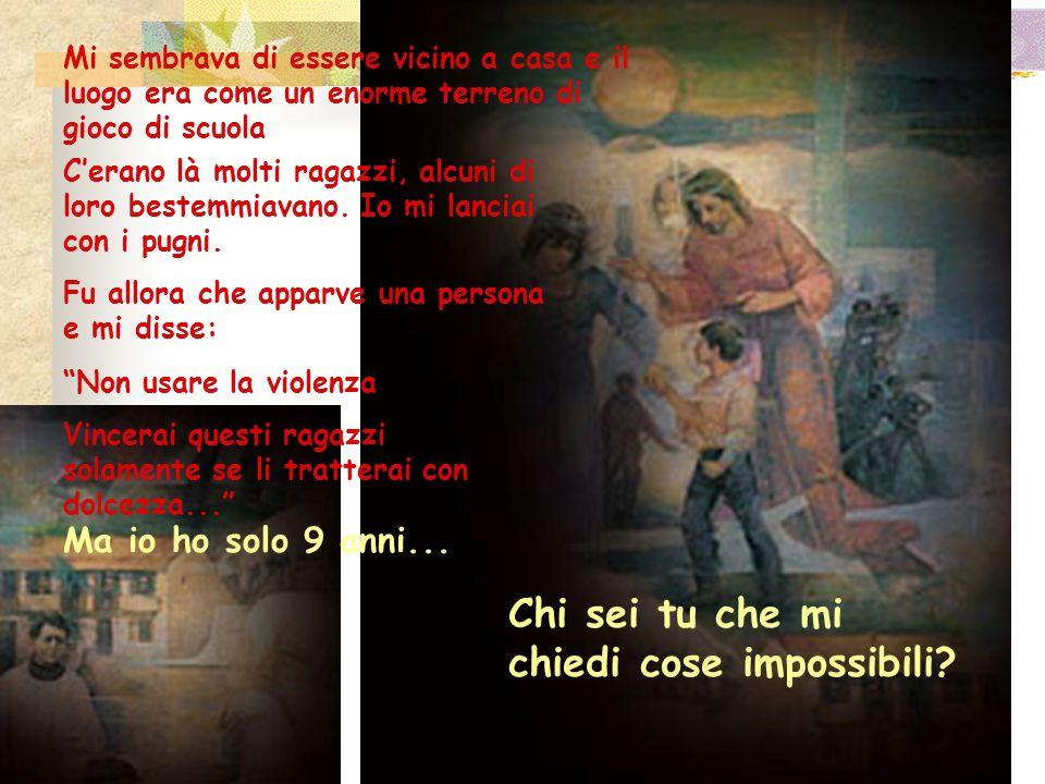 4.Consigli al giovane Giovanni Bosco da sua madre.