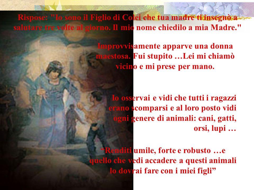 Parole a Don Bosco Sacerdote Torino, 5 giugno 1841.