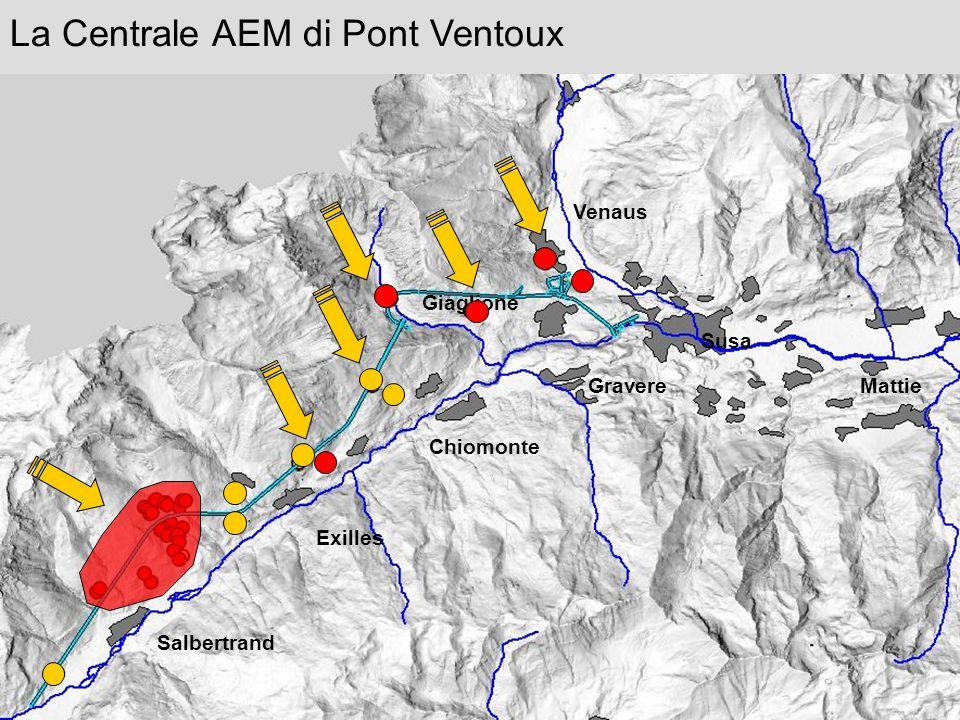 La Centrale AEM di Pont Ventoux Venaus Susa Giaglione Gravere Chiomonte Exilles Salbertrand Mattie