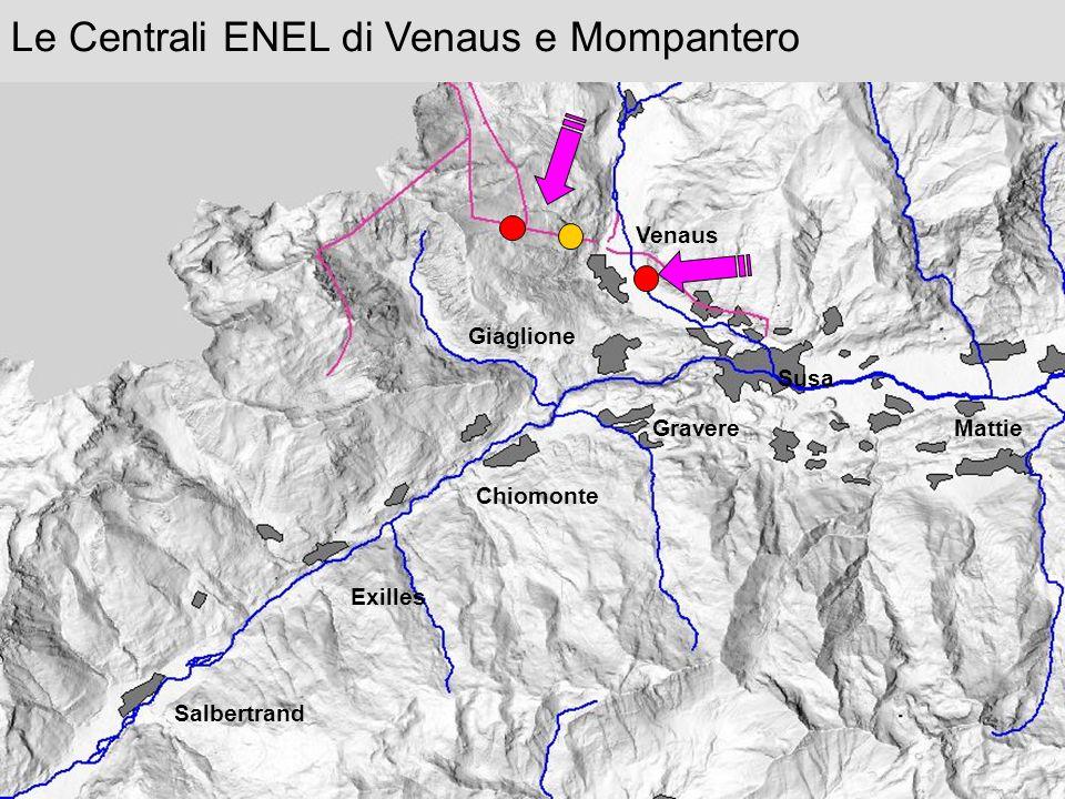Le Centrali ENEL di Venaus e Mompantero Venaus Susa Giaglione Gravere Chiomonte Exilles Salbertrand Mattie