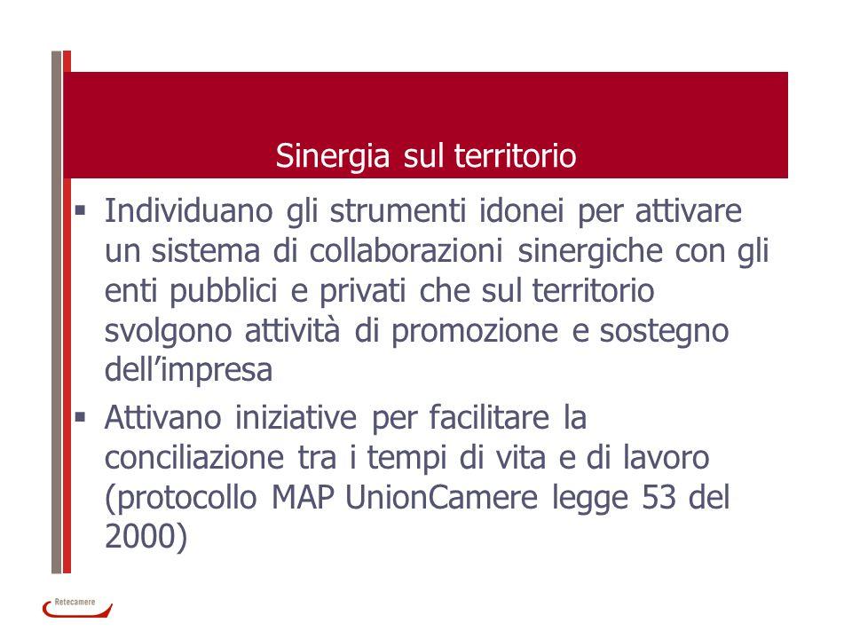 Sinergia sul territorio Individuano gli strumenti idonei per attivare un sistema di collaborazioni sinergiche con gli enti pubblici e privati che sul