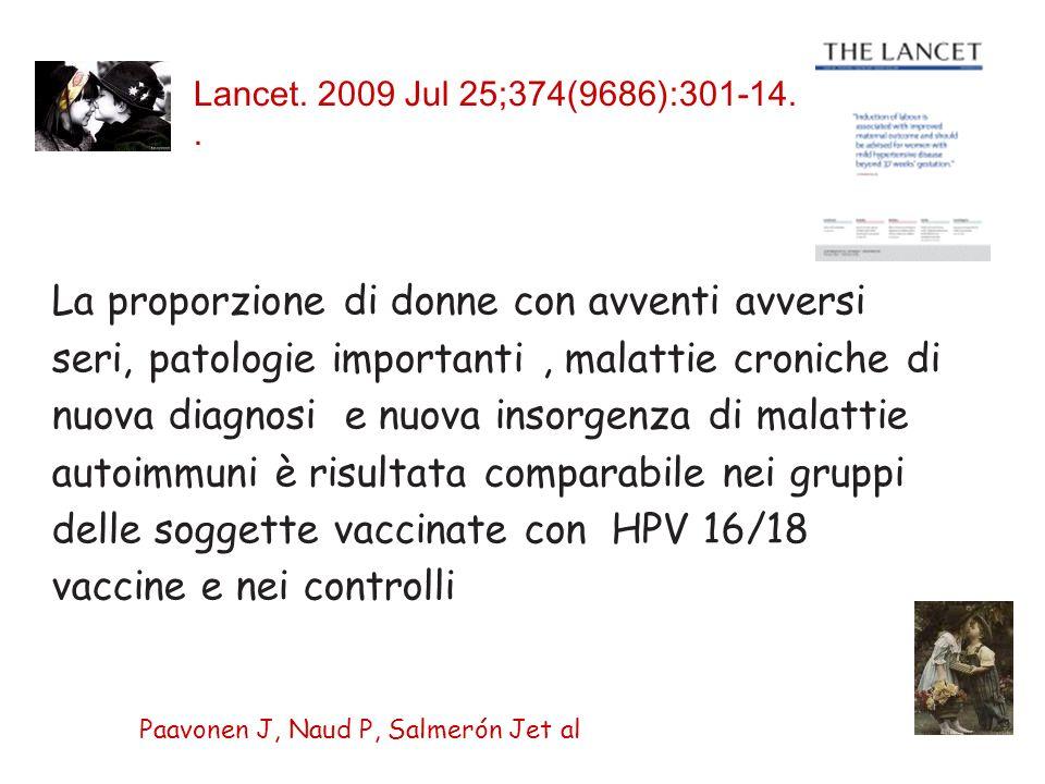 Lancet. 2009 Jul 25;374(9686):301-14.. Paavonen J, Naud P, Salmerón Jet al