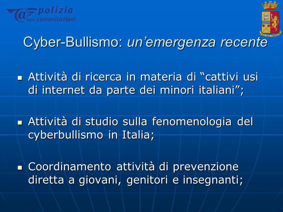 Il fenomeno in Italia… Circa 200 casi giudiziari di gravità variabile...
