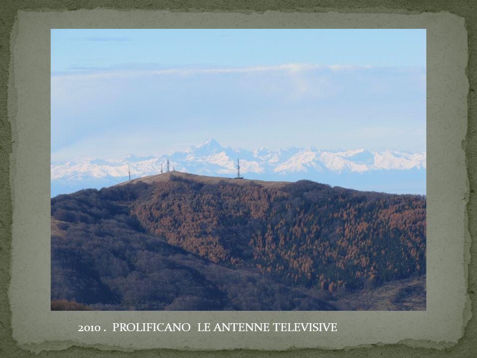 2010. PROLIFICANO LE ANTENNE TELEVISIVE