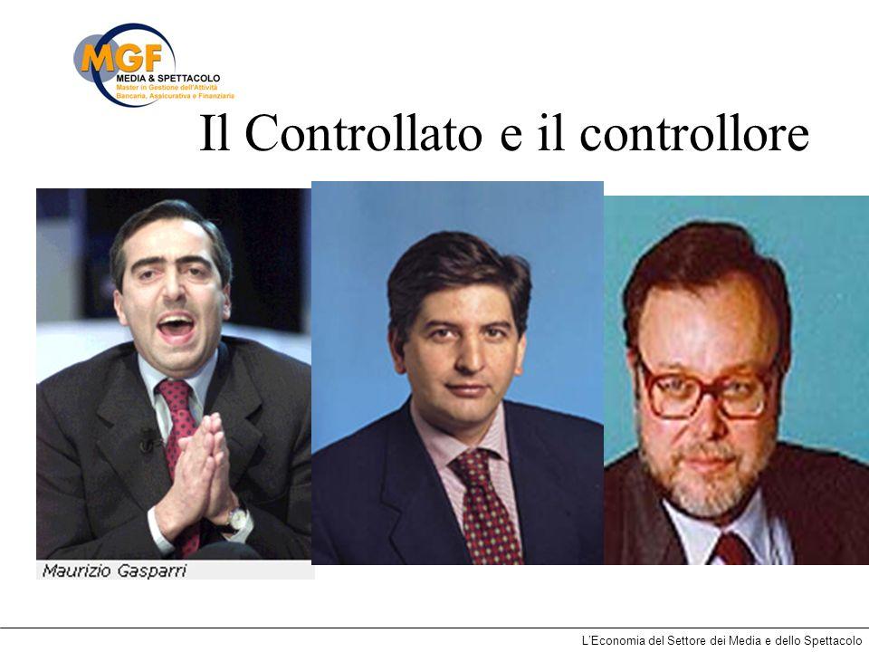 LEconomia del Settore dei Media e dello Spettacolo Il Controllato e il controllore