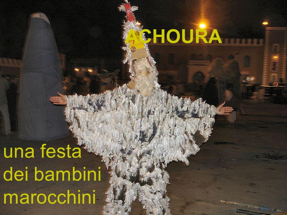 ACHOURA una festa dei bambini marocchini