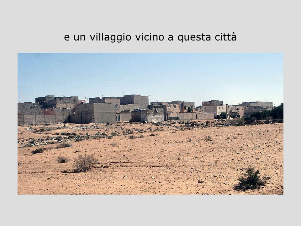 e un villaggio vicino a questa città