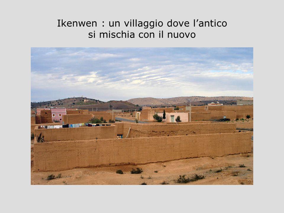 Ikenwen : un villaggio dove lantico si mischia con il nuovo
