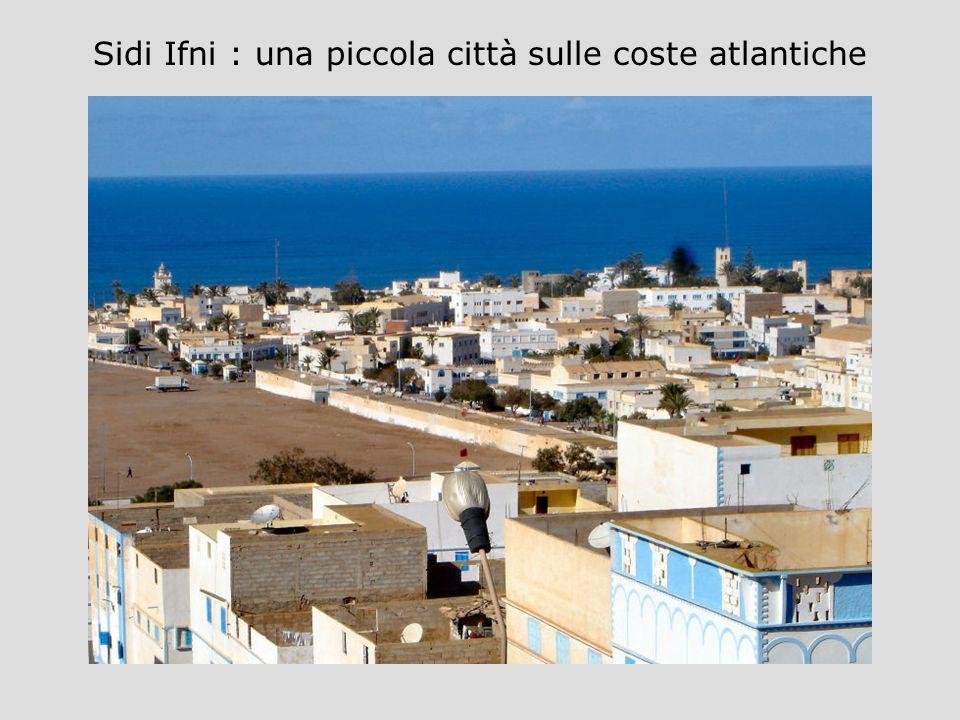 Sidi Ifni : una piccola città sulle coste atlantiche