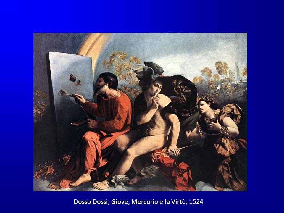 Dosso Dossi, Giove, Mercurio e la Virtù, 1524