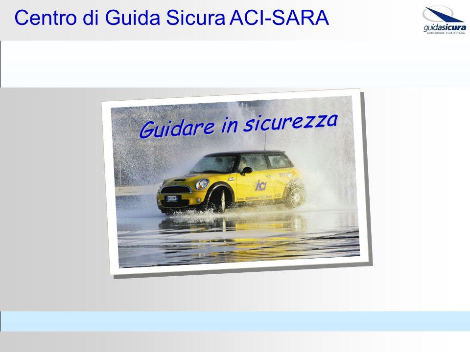 Guidare in sicurezza Centro di Guida Sicura ACI-SARA
