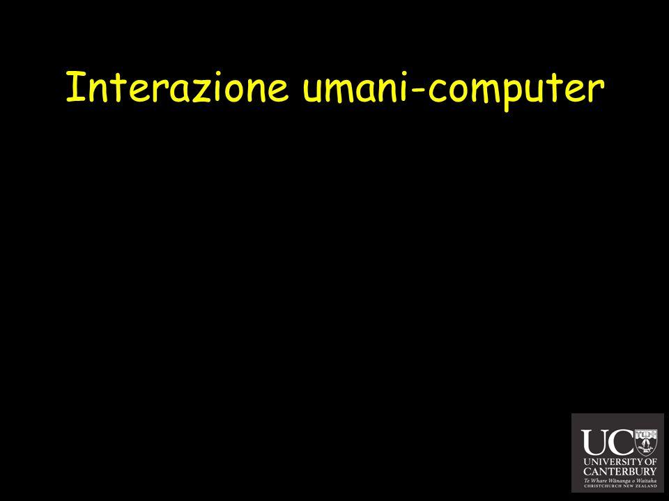 Interazione umani-computer