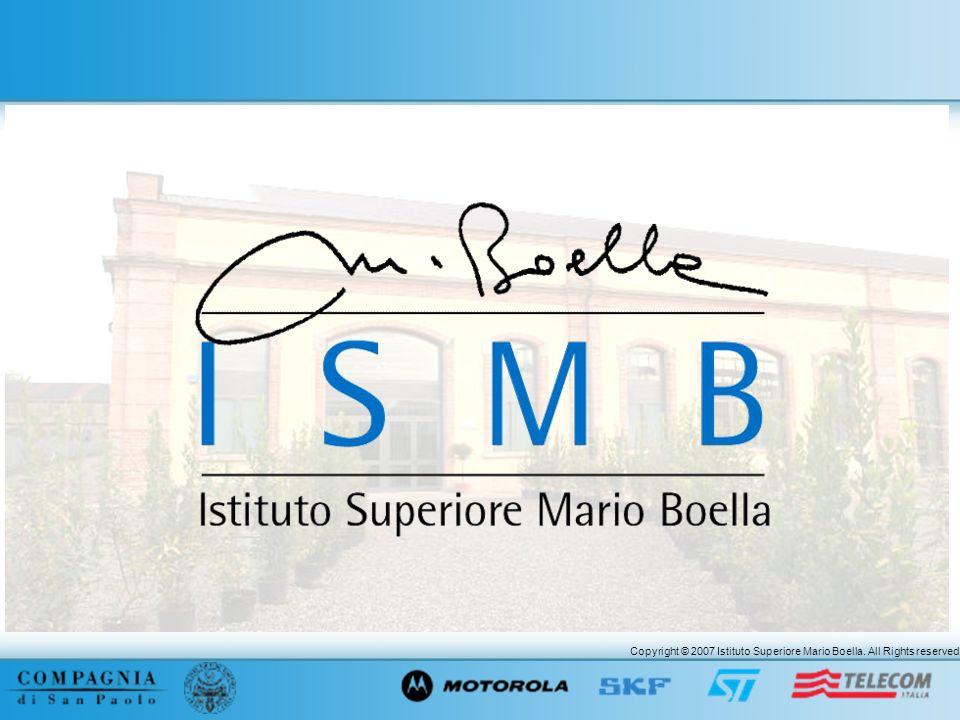 Copyright © 2007 Istituto Superiore Mario Boella. All Rights reserved.