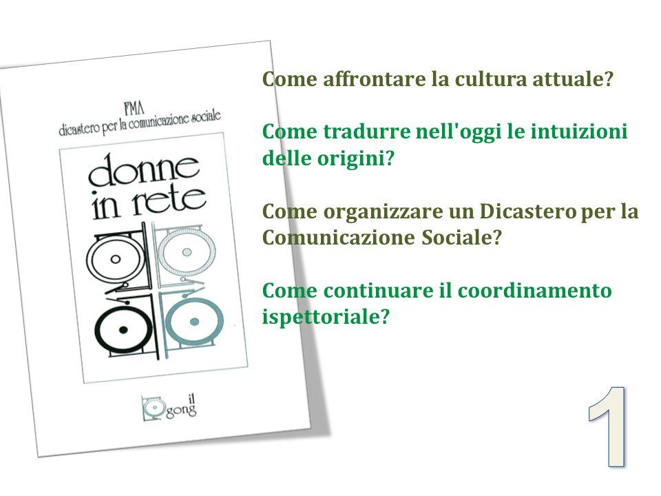 Come affrontare la cultura attuale? Come tradurre nell'oggi le intuizioni delle origini? Come organizzare un Dicastero per la Comunicazione Sociale? C