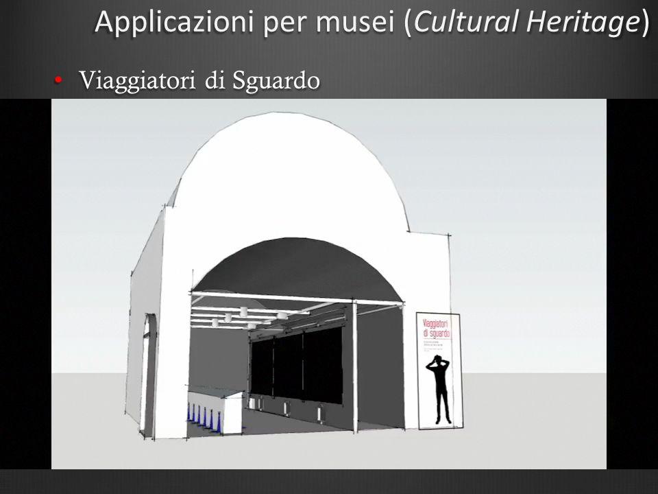 Applicazioni per musei (Cultural Heritage) Viaggiatori di Sguardo Viaggiatori di Sguardo