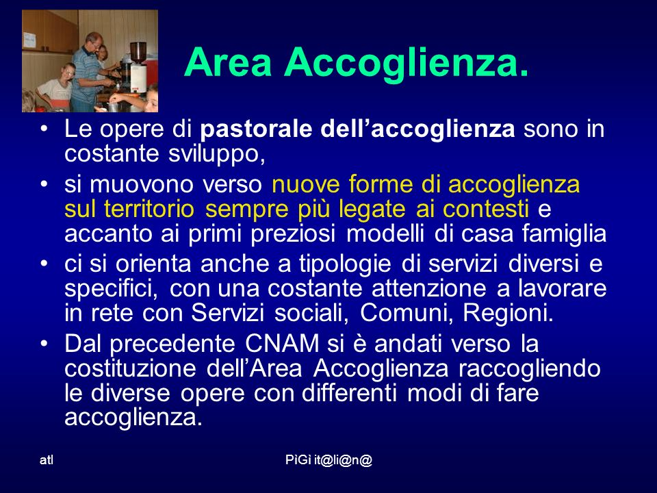 atlPìGì it@li@n@ Area Accoglienza.