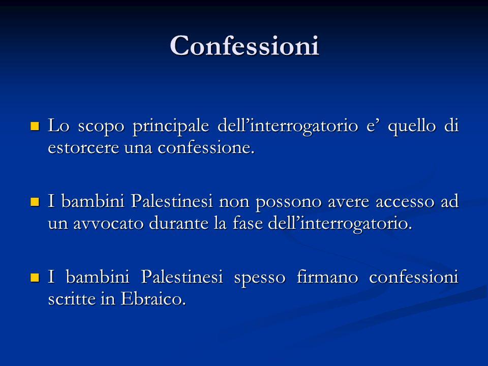 Confessioni Lo scopo principale dellinterrogatorio e quello di estorcere una confessione.