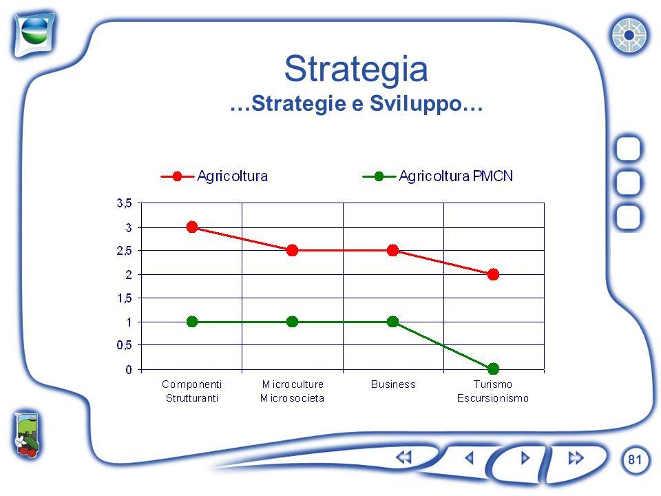81 Strategia …Strategie e Sviluppo…