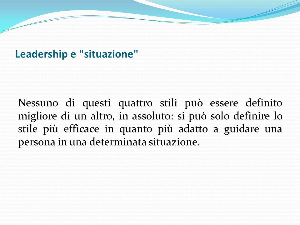 Leadership e