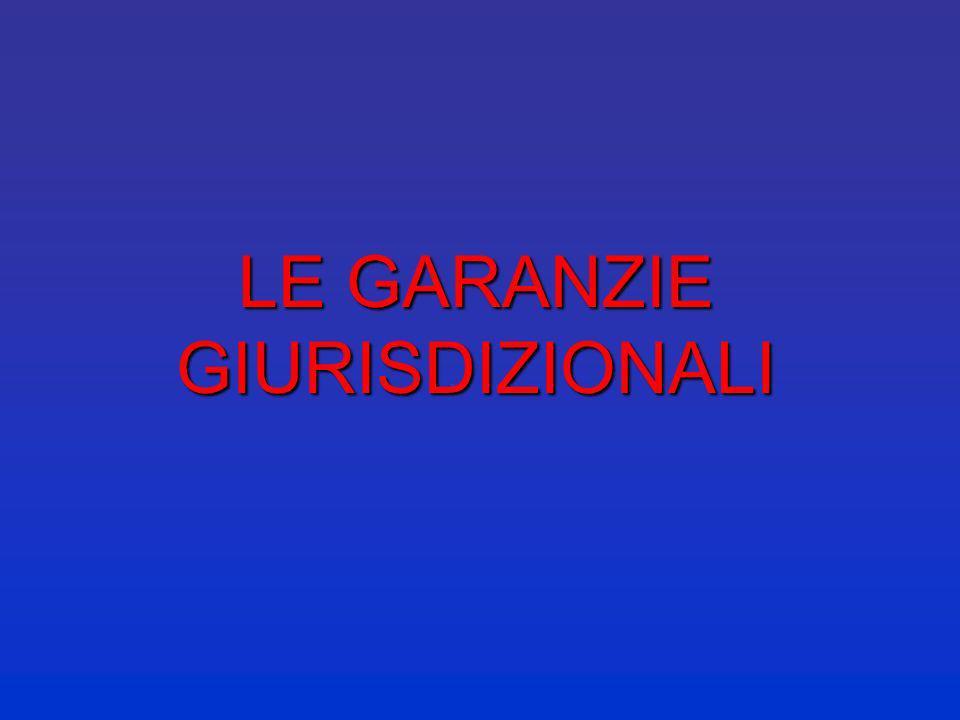 GIURISDIZIONE ITALIANA 1° grado 2°grado Controllo di legittimità delle decisioni Controllo di legittimità delle leggi Giurisdizione civile Giurisdizio