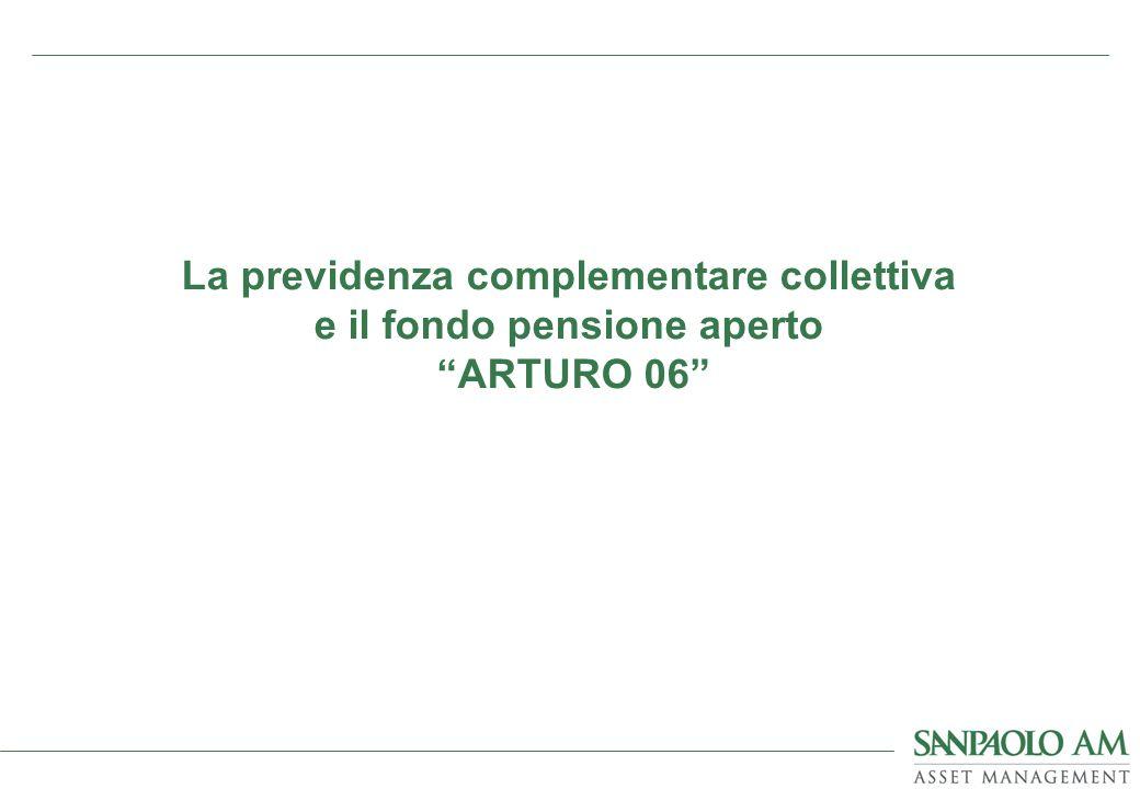 La previdenza complementare collettiva e il fondo pensione aperto ARTURO 06