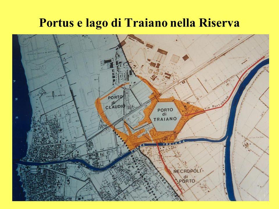 Portus e lago di Traiano nella Riserva