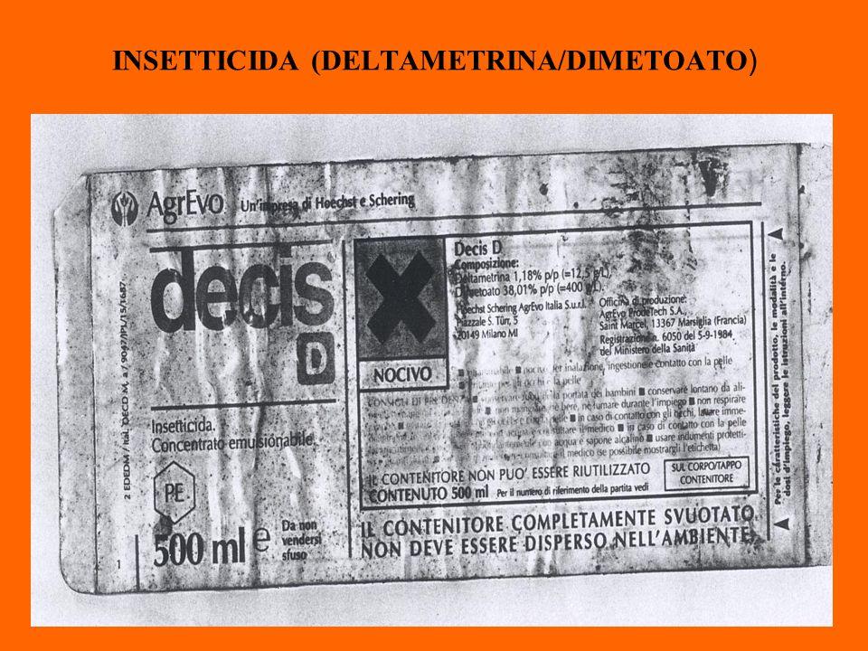 INSETTICIDA (DELTAMETRINA/DIMETOATO )