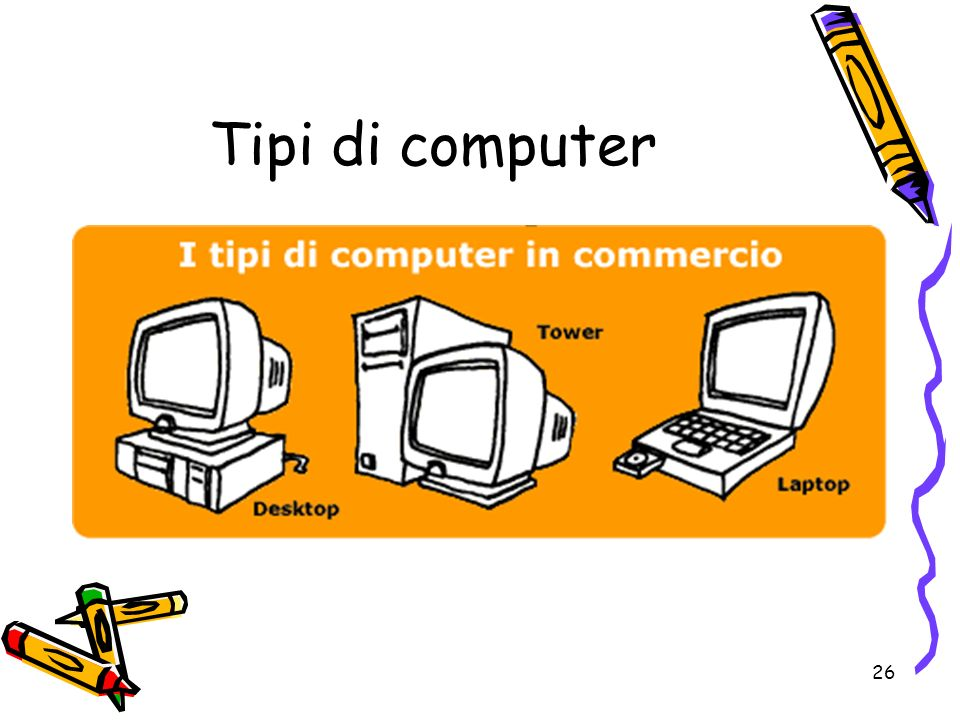 26 Tipi di computer
