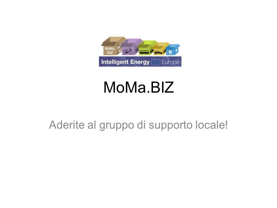 MoMa.BIZ Aderite al gruppo di supporto locale!